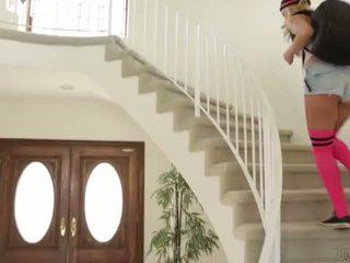 Busty Step-Mom Holly Heart and Carmen Caliente