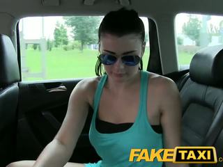 FakeTaxi Innocent girl takes on huge cock
