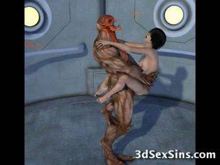 Creatures faen 3d scifi babes!