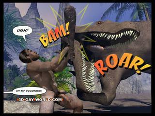 Cretaceous caralho 3d gay desenho sci-fi sexo história