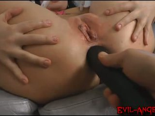 double anal, asian