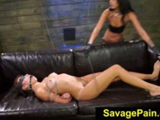 FetishNetwork Marina Angel Gets Huge Double Strapon