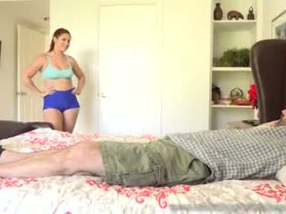 Edyn Blair Gets Fucked by Big Black Cock While Husband Watches Video