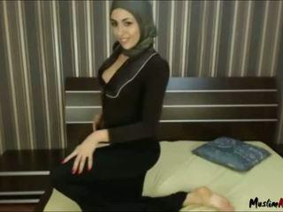 Arab Hijab Girl Needs Cock