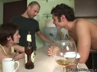 opilý, výstřik, defloration, virgins