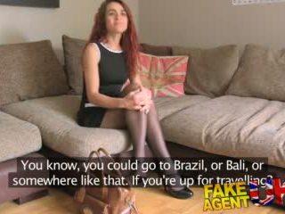 Fakeagentuk Agent Has Intense Bondage Session With a Milf in Pov Casting Video