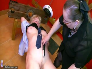 OldNanny BDSM granny and mature