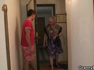 senelė, močiutė, brandus, senas pussy