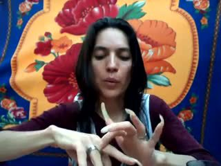 Lång naturlig nails: lång nails porr video- b9