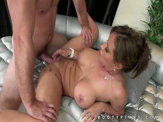 Hanger tits Eva Notty doggystyle sex