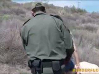 Border patrol agent ファック ラティナ ベイブ kimberly gates