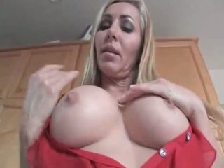 Hot mature Lisa DeMarco shows her ideal sexy body
