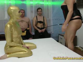 Spandex Gangbang Orgy, Free Amateur Porn Video 55