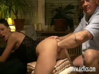 Brutally Fisting the Wifes Cavernous Pussy: Free Porn 93
