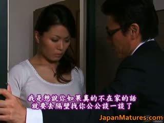 brunett, japansk, gruppsex, stora bröst