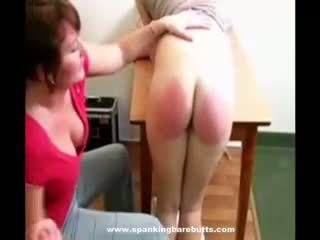 daughter, punishment, spanking