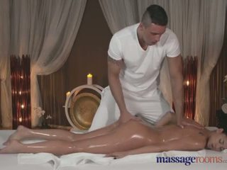 Massage Rooms Tanned beauty takes every inch of her masseurs fat cock - Porn Video 781