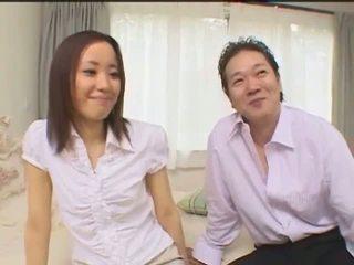 Silky smooth skinned Japanese Jun Kiyomi