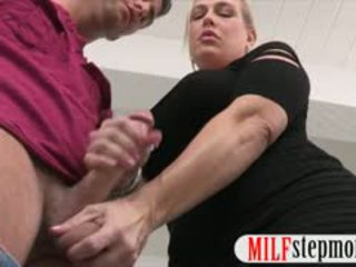 Stepmom Was Busted Sucking Younger Cock