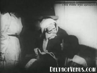 दुर्लभ 1920s आंटीक एक्समस पॉर्न - एक क्रिस्मस tale