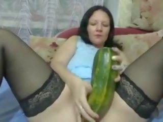 Mature big boob tube