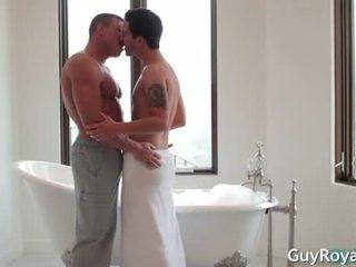Erotic Bath & rubbing - Devin Dixon