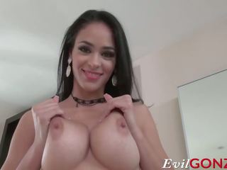 big boobs, brunettes, ideal handjobs