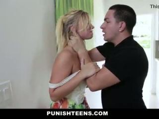 "PunishTeens - Brutal Punishment For Daddys Girl <span class=""duration"">- 10 min</span>"
