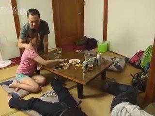日本の, なめること, スワッピング, プッシー