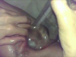 insertion, pussy, wet, homemade