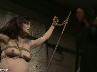 意地の悪い ミストレス 再生 とともに 彼女の セックス スレーブ