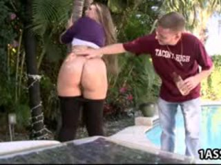 Fat Ass Nikki Stone Gets Fucked