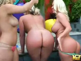 Bikini sex blondes
