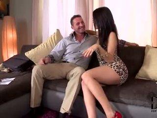 ελεύθερα μελαχροινή πιο hot, στοματικό σεξ παρακολουθείστε, όλα deepthroat παρακολουθείστε