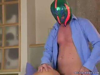 Avalon getting banged tovább neki twat hátulró által egy férfi -val egy maszk