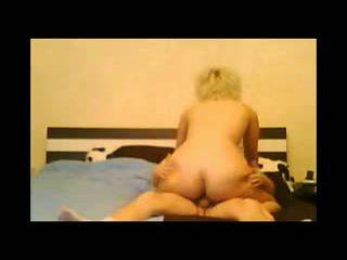 Virginie Salope Blonde Ride Cock