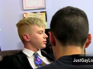 Gay video He has a whole school of naughty