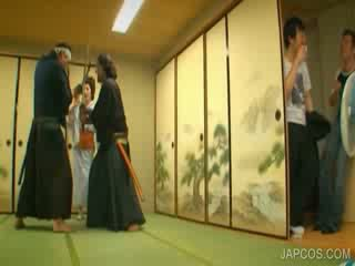 Oriental geisha shows tetek dan alat kelamin wanita