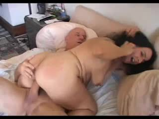 Hairy Cunted Saggy Tits Mature Nina Fucked