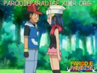 Pokemon เฮนไท ash x dawn
