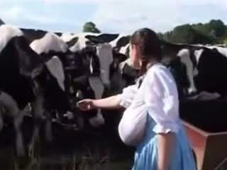 ドイツ語 ミルク メイド: フリー おかしい ポルノの ビデオ