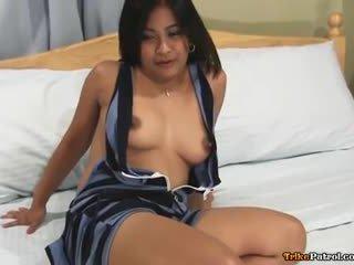 Kısa saç genç filipina arap alexa fucks strange yabancı guy
