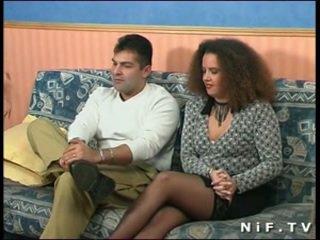 Francesa amadora casal doing anal sexo em frente de nós