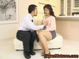 Hitomi kurosaki 성숙한 아시아의 병아리 part3