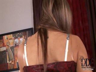 check brunette, close up video, fun vibrator scene