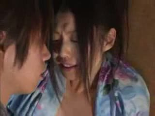 Japonské rodina (brother a sister) sex part02