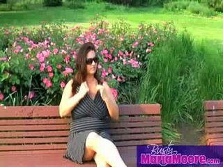 Maria moore - solo 에 park bench