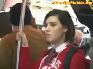 Söt tonårs skol groped misshandlade
