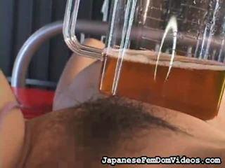 Výběr na úžasný klipy od japonská femdom videa v bondáž, nadvláda, sadismus, masochismu porno niche