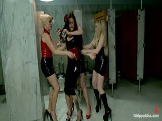 Gia Dimarco Completely Destroyed By 3 Dominatrix!